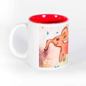 Кружка «Розовый слон»