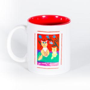 Кружка «В гостях хорошо, а дома кошки»