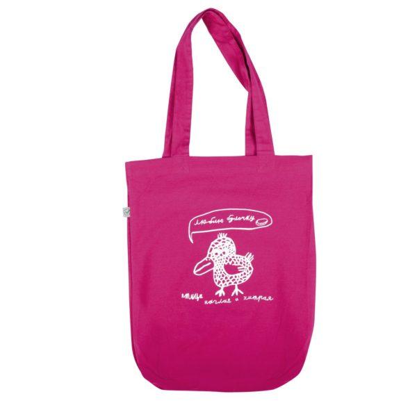 сумка Птица наглая и хитрая