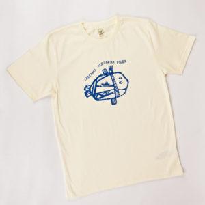футболка мужская 100% хлопок Северная Ледовитая Рыба
