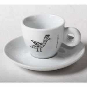 кофейная пара птичка да