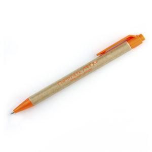Ручка с корпусом из переработанного картона Помогать легко