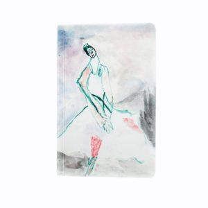 Блокнот «Портрет балерины Анны Павловой»