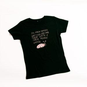 футболка Божья коровка