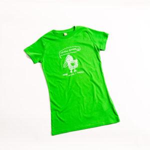 футболка птица наглая и хитрая