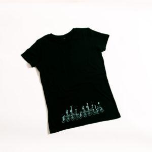 футболка Велосипедисты