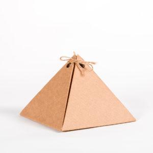 Коробка-пирамида, 20x20x15 см