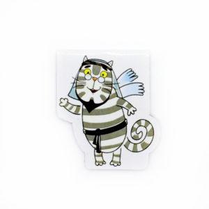 Магнитная закладка «Кот Мустафа»