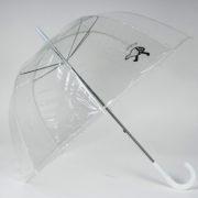 прозрачный зонт-трость рисунок Куропаточка
