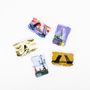 магниты с детскими рисунками Санкт-Петербурга