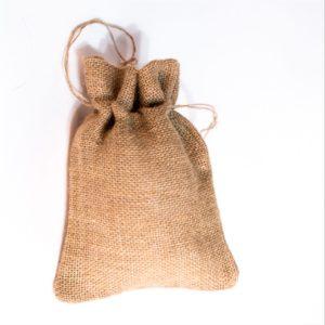 упаковка джутовый мешочек