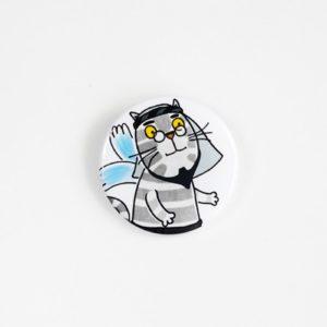значок кот мустафа