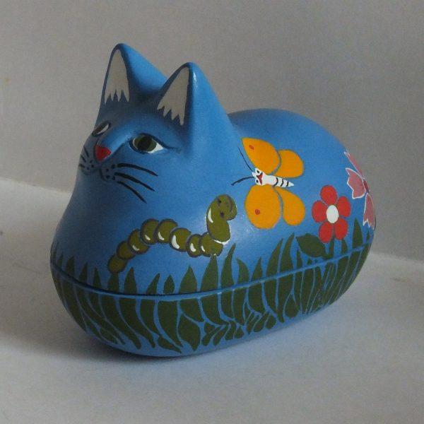 кошка-шкатулка