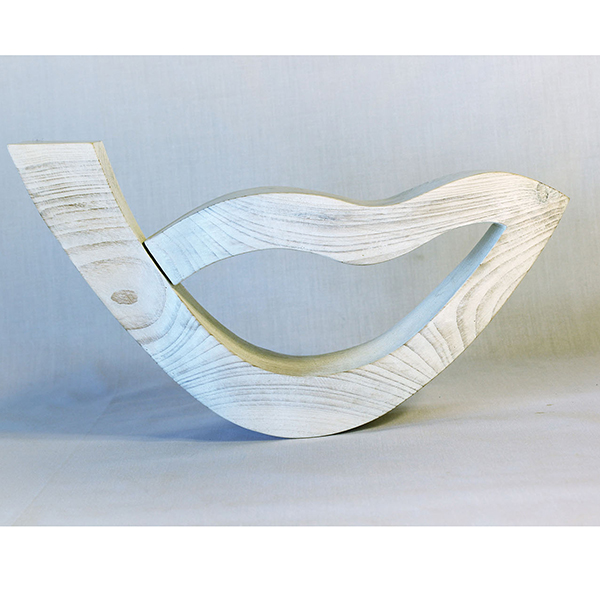 птица большой мечты белая 16 см
