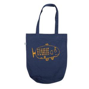 сумка из экохлопка Кит