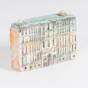 керамическая миниатюра Миллионная улица, дом 6