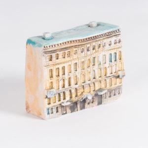 Керамическая миниатюра Миллионная улица, дом 12