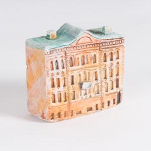 керамическая миниатюра Миллионная улица, дом 14