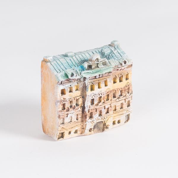 керамическая миниатюра Миллионная улица, дом 17