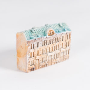 керамическая миниатюра Миллионная улица, дом 11