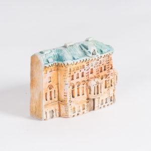 керамическая миниатюра Миллионная улица, дом 7
