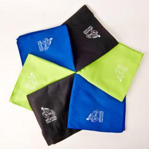 спортивное полотенце из микрофибры Катитесь в Санкт-Петербург