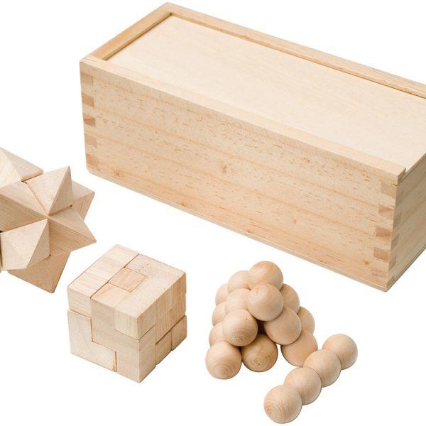 набор головоломок из дерева