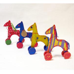 Игрушка лошадь на колёсиках центра Антон тут Рядом