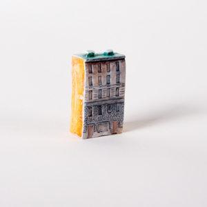 Керамическая миниатюра ручной работы Ручная работа  Миллионная улица дом 8
