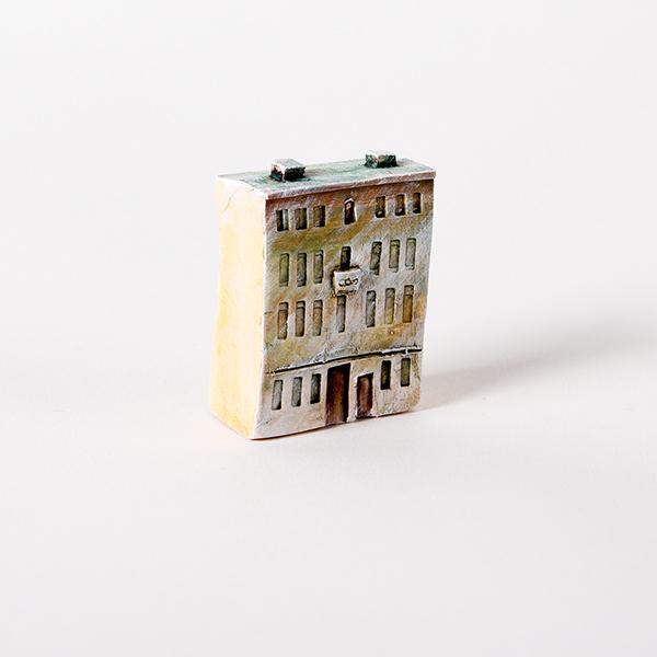 керамическая миниатюра Миллионная улица, дом 9