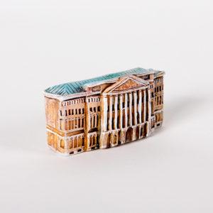 Керамическая миниатюра ручной работы Миллионная улица дом 2