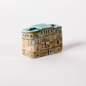 Керамическая миниатюра ручной работы керамическая миниатюра ручной работы Миллионная улица дом 3