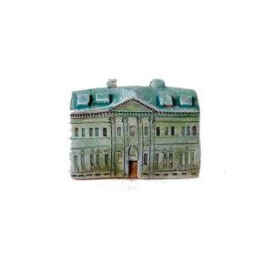 Керамическая миниатюра ручной работы  Миллионная улица дом 4
