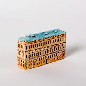 керамическая миниатюра ручной работы Невский проспект, дом 18