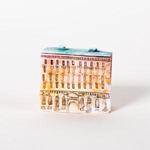 керамическая миниатюра ручной работы Невский проспект, дом 23