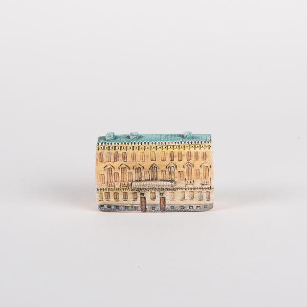 керамическая миниатюра ручной работы Невский проспект, дом 25