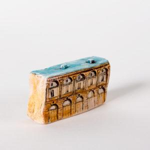 керамическая миниатюра ручной работы Невский проспект, дом 31