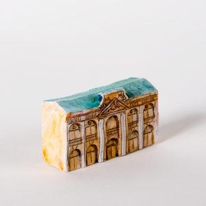 керамическая миниатюра ручной работы Невский проспект, дом 35 Гостиный двор