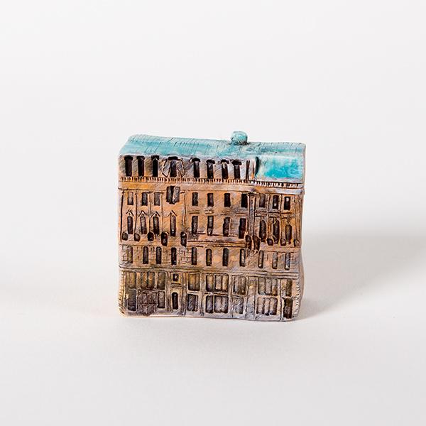 керамическая миниатюра ручной работы Невский проспект, дом 1