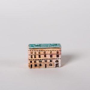 керамическая миниатюра ручной работы Невский проспект, дом 10