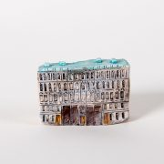 керамическая миниатюра ручной работы Невский проспект, дом 11