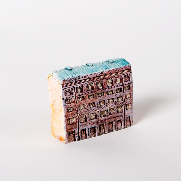 керамическая миниатюра ручной работы Невский проспект, дом 12