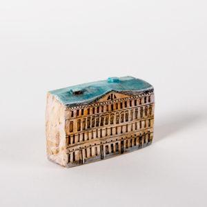керамическая миниатюра ручной работы Невский проспект, дом 13