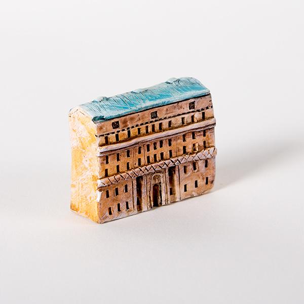керамическая миниатюра ручной работы Невский проспект, дом 14