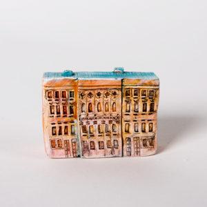керамическая миниатюра ручной работы Невский проспект, дом 15