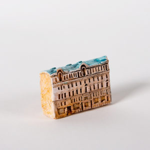 керамическая миниатюра ручной работы Невский проспект, дом 16