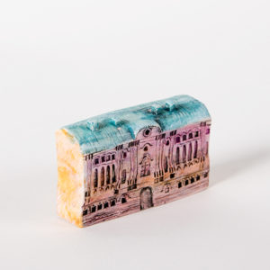 керамическая миниатюра ручной работы Невский проспект, дом 17