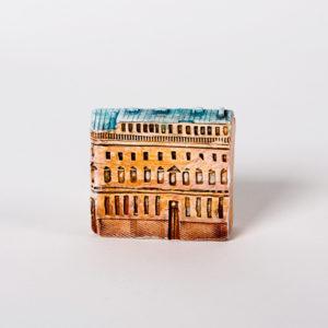 керамическая миниатюра ручной работы Невский проспект, дом 2