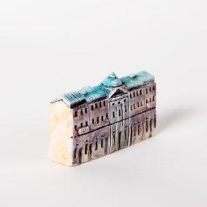 керамическая миниатюра ручной работы Невский проспект, дом 20