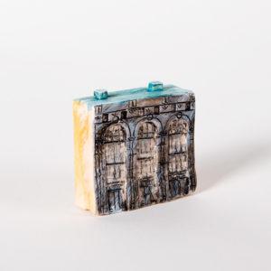 керамическая миниатюра ручной работы Невский проспект, дом 21